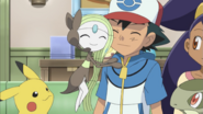 Ash and Meloetta