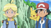 Clemont and Ash