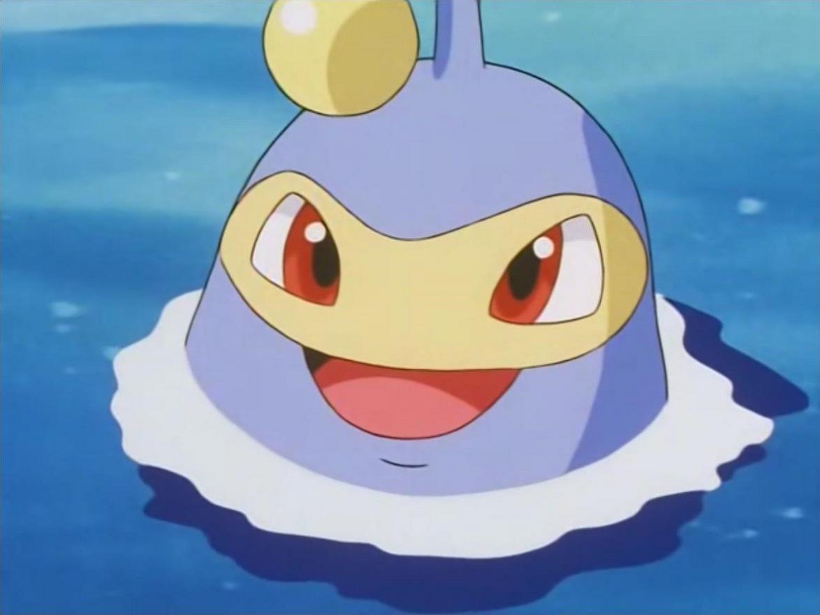 Lanturn is Naomi's Pokémon, who helps her in studying Water Pokémon.