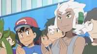 Ash and Professor Burnet