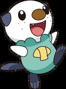 501Oshawott BW anime 4