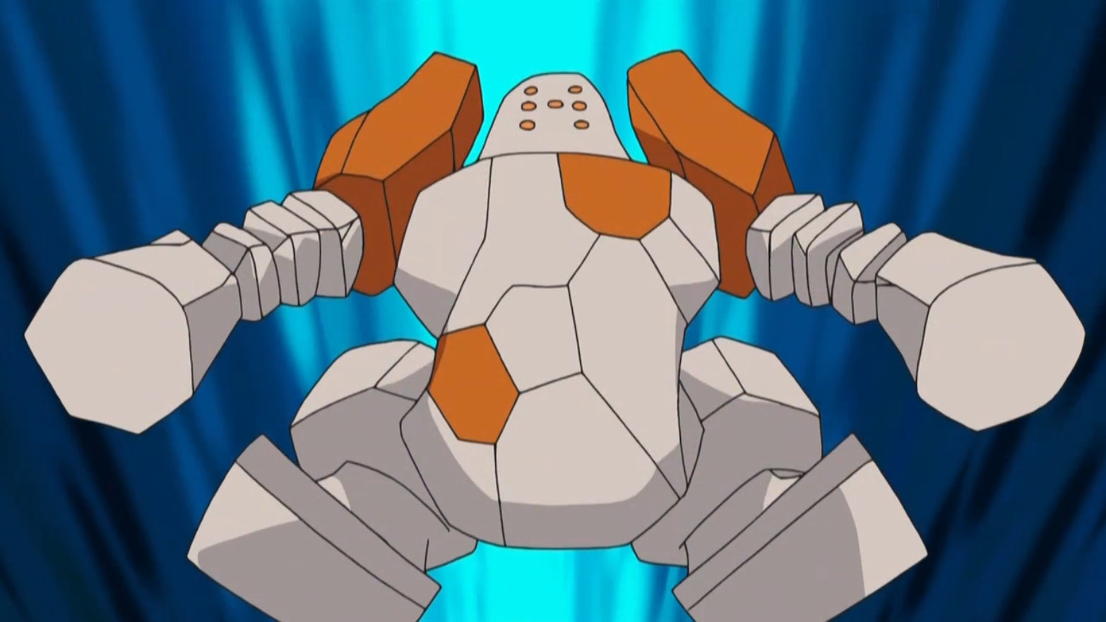 Regirock was the first Legendary Golem that Brandon caught and is arguably his strongest Pokemon.