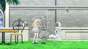 Lillie, Snowy and Magearna