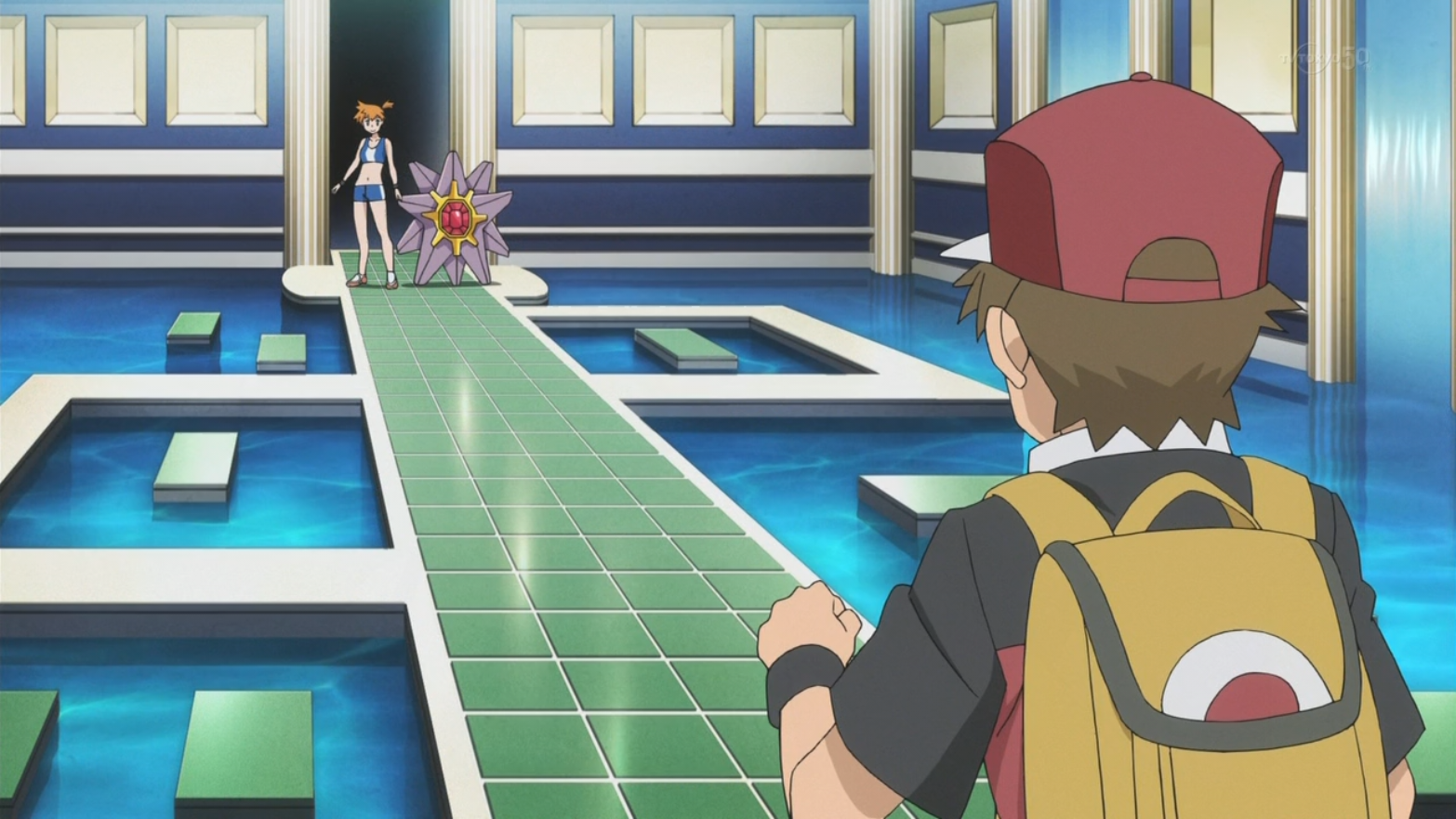 Misty Used Starmie When Red Battled Her