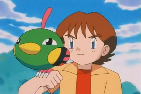 Mackenzie had a Natu named Naughty, who would've performed in his acts. It tried to use Future Sight, but failed. However, after the battle with Team Rocket, its level increased and managed to use Future Sight properly.