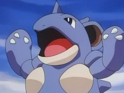 Nidoqueen was used by Danny in the first challenge against Ash. In the 2nd challenge, Nidoqueen's strength was used to help carve out a sled from Danny's slab of ice.