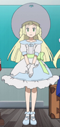 Lillie traveling outfit
