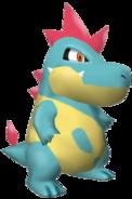 159Croconaw Pokémon Colosseum
