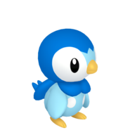 393Piplup Pokémon HOME
