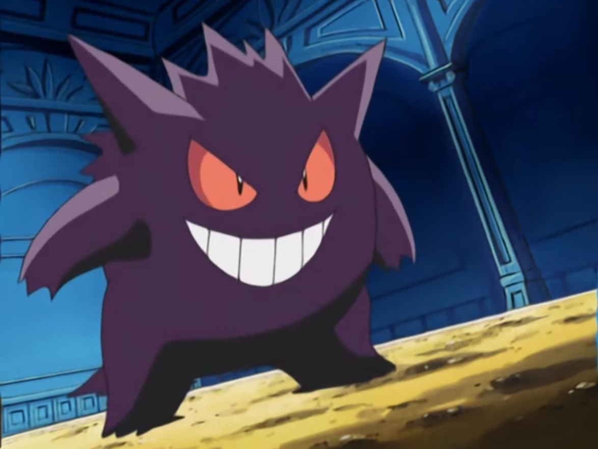 Gengar is Agatha's main Pokémon, and was able to hold its own against Ash Ketchum's Pikachu. However, Pikachu was able to defeat its Double Team attack, moving in for the win with Thundershock. But Agatha instructed Gengar to use Hypnosis and Dream Eater in succession, enabling it to defeat Pikachu.