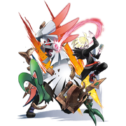 Silvally and Gladion
