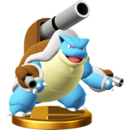 메가거북왕 피규어 Wii U