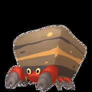 558Crustle Pokémon HOME