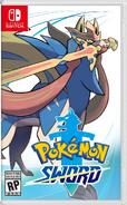 Pokémon Sword Boxart