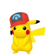 025Pikachu Sinnoh Cap Pokémon HOME