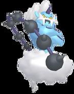 642Thundurus Incarnate Forme Pokémon HOME