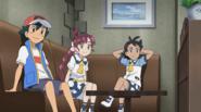 Ash, Chloe and Goh
