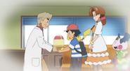 Ash and Professor Oak