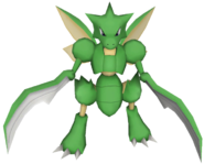 123Scyther Pokemon PokéPark