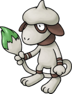 235Smeargle Pokemon Mystery Dungeon Red and Blue Rescue Teams