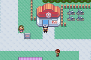 Mauville City - Pokémon Center (Gen III)