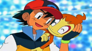Ash and Chimchar