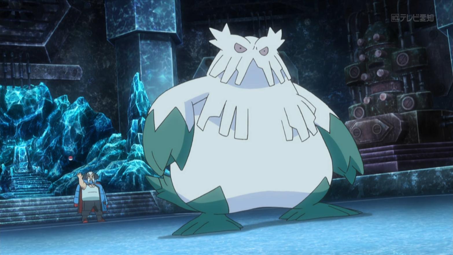 Wulfric's Abomasnow (anime)