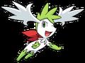 492Shaymin Sky Forme DP anime 2
