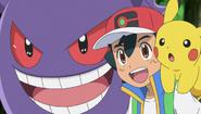 Ash and Gengar