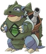 Green Army Blastoise