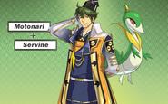 Pokemon Conquest -Motonari and Servine