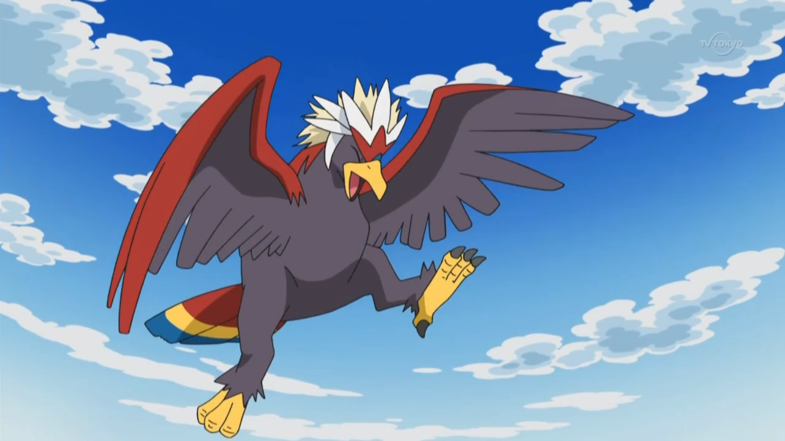 Radley used his Braviary in a battle against Stephan and his Zebstrika in the Unova League.