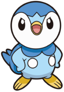 393Piplup DP anime 13