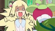 포켓몬을 무서워하는 릴리에