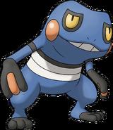 453Croagunk Pokemon Ranger Shadows of Almia