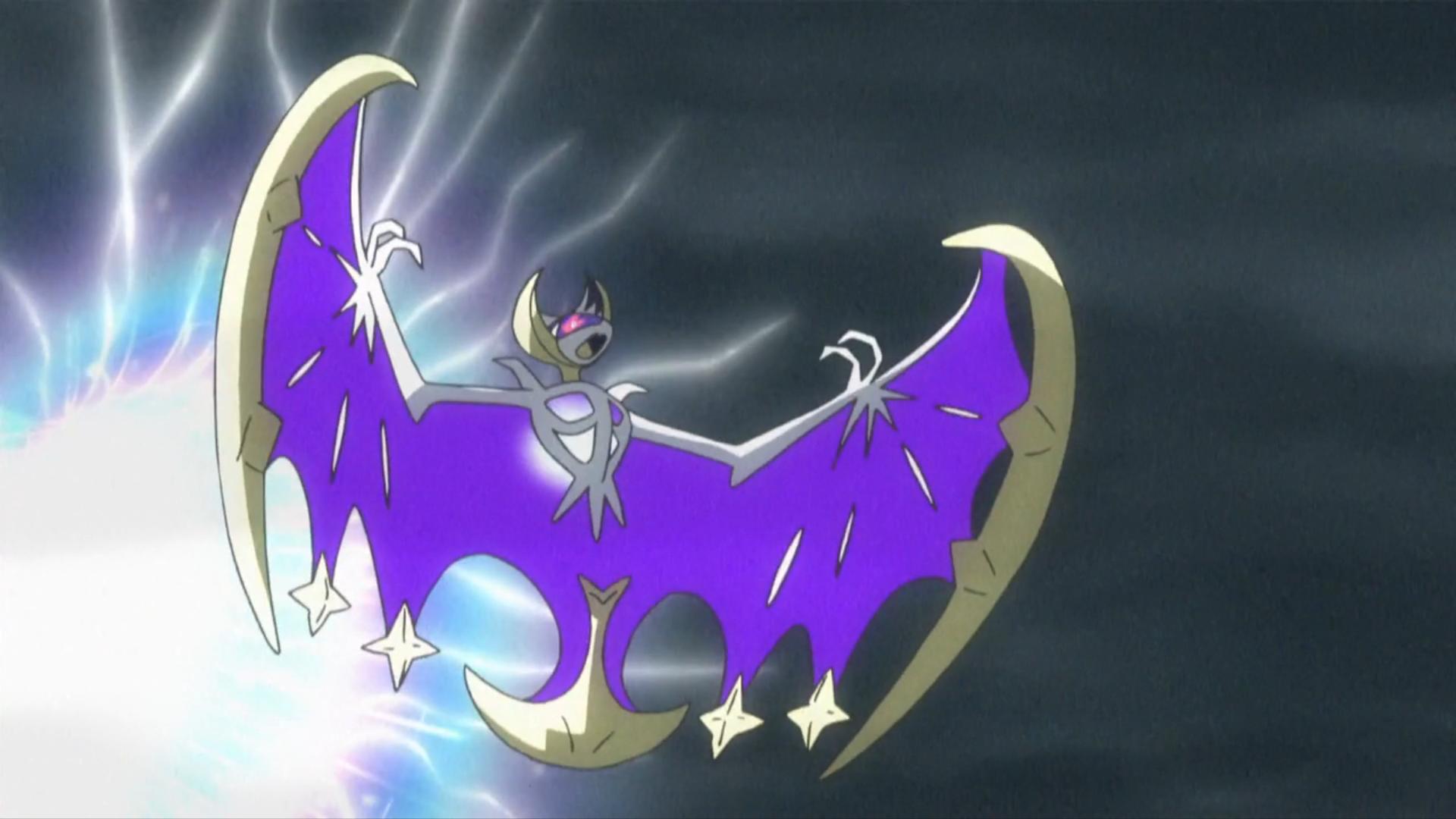 Lunala Anime Pokemon Wiki Fandom