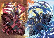 Team Magma VS Team Aqua Omega Ruby and Alpha Sapphire