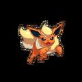 136Flareon Pokemon Conquest