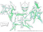 Arceus concept art
