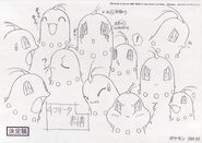 Chikorita anime expressions