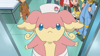 Nurse Joy Audino