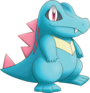 158Totodile Pokemon Mystery Dungeon Explorers of Time and Darkness