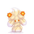 869Alcremie Caramel Swirl Flower Sweet Pokémon HOME
