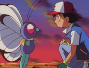 Ash and Butterfree