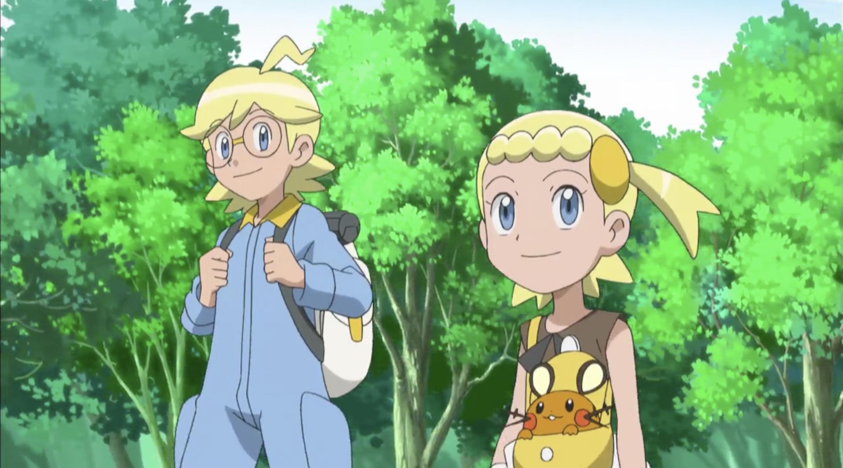Pokemon Clemont And Bonnie
