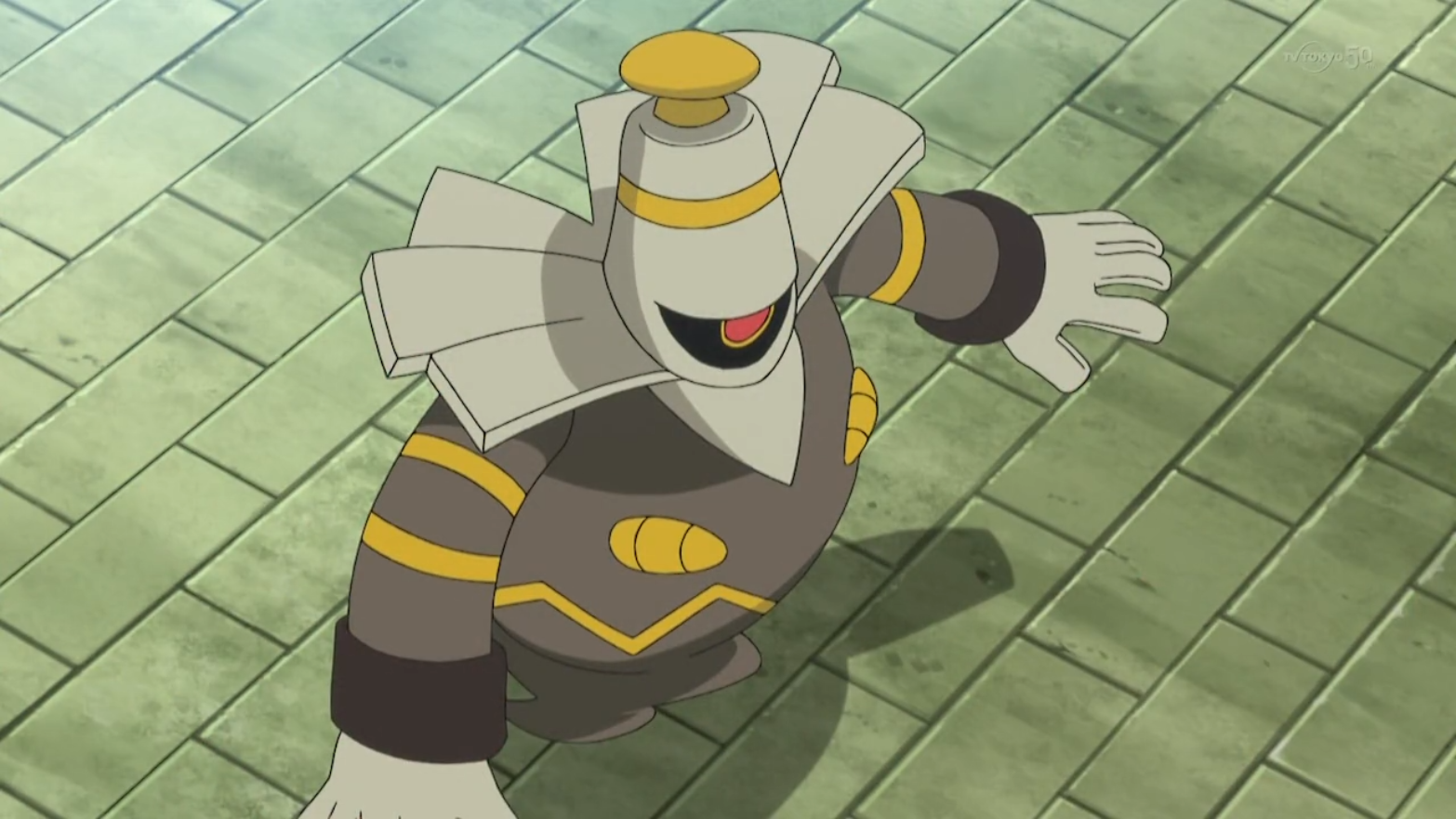 Farrell used his Dusknoir in his battle against Nico and his Fletchinder. Dusknoir did have the advantage over Fletchinder due to Thunder Punch but Dusknoir was easily knocked out by Fletchinder's Flame Charge.