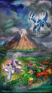 Legendary Pokémon of Sinnoh Poster