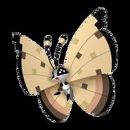 666Vivillon Sandstorm Pattern Pokémon HOME