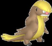 735Gumshoos Pokémon HOME