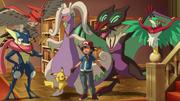 Ash Kalos Pokémon